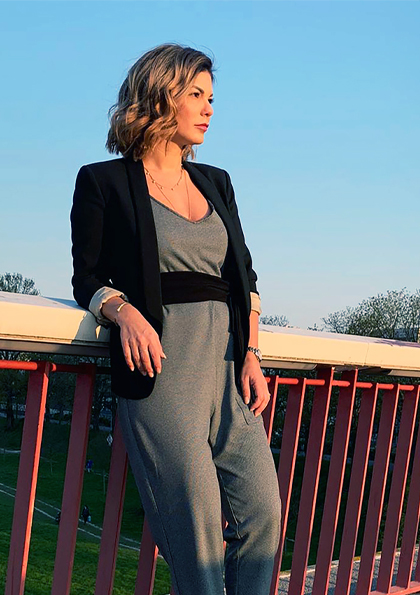 Makeup/ Model: Liliana La Torre