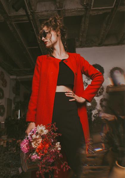 Initiator: Sebastian Scinardo Tabernacolo | Fotograf: Chrissie Aurora | Makeup: Isabella Kirchner | Model: Miriam